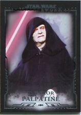 Star Wars Masterwork Premium Base Card #15 Emperor Palpatine