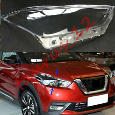 Right Side Headlight Cover Clear PC With Glue replace For Nissan Kicks 2018-19-J