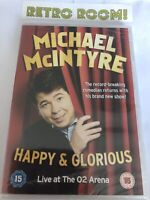 Michael McIntyre -Happy & Glorious - DVD **NEW SEALED** FREE POST**