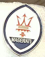 NEW MASERATI HAT.LAPEL PIN