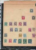 belgium  stamps page ref 18068