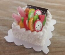 1 Pcs Dollhouse Miniatures Food & Groceries Supply Handcrafted Lovely Cake A10
