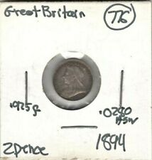 Great Britain, 2 Pence 1894 (XF)  #705