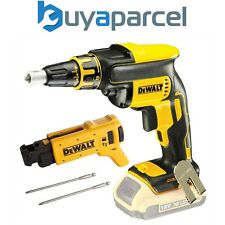 Dewalt DCF620N 18v XR Brushless Collated Autofeed Drywall Screwdriver DCF6201