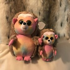 "PINECONE (WALGREENS EXCLUSIVE) BEANIE BOO HEDGEHOGS 6"" & 11"" MWMT"