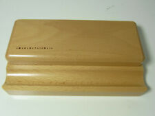 NOS German MARTINI Writing instruments storage out of wood for up to 3 pens #1
