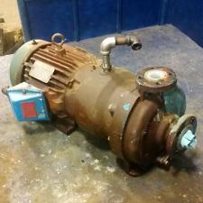 "RELIANCE ELECTRIC FRAME L 182TC 3HP MOTOR P18G4109D W/ 1"" X 1.5"" PUMP"