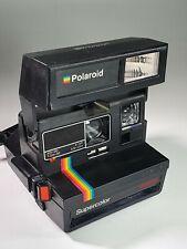 Vintage Polaroid SUPERCOLOR 635CL Land Camera Polaroid 600 Film Collectible