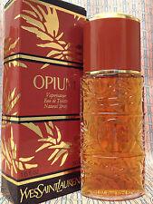 Vintage RARE 1980s YSL Opium FULL 1.6 oz 50 ml Eau de Toilette Spray OLD FORMULA