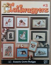 Tailwaggers #3 Cross Stitch Patterns Leaflet