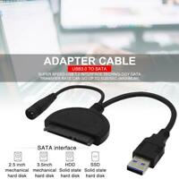 Adapter SATA to USB 3.0 2.5/3.5 inches HDD SSD Hard Drive Converter Cable Line