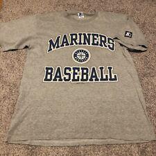 Vintage 1996 Seattle Mariners Ken Griffey Era T Shirt Starter Baseball MLB 90s