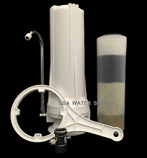 Countertop Radiation, Heavy Metal, Chem and Sediment Water Filter / Revitalizer