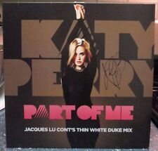 "Katy Perry signed Part of Me 12"" record store day LP"