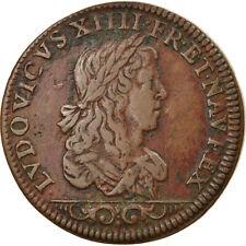 [#5843] France, Jeton, Louis XIV Le Grand, History, TTB, Cuivre