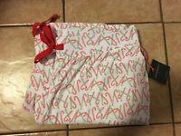 Womens Cynthia Rowley Christmas  Lounge Sleep Pants Pajama Bottom SIZE Small NEW