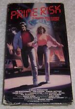 Prime Risk VHS Video Lee Montgomery Toni Hudson