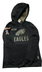 Nike 2020 Philadelphia Eagles Salute to Service Sideline Womens Hoodie SZ M NWT