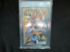 MARVEL STAR WARS  #1 CGC 9.8 DYNAMIC FORCES EDITION GREG LAND