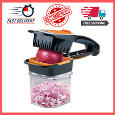 Nutri Chopper with Fresh-keeping Storage Container - Vegetable Slicer that Chops