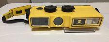 Complete Vintage MINOLTA Weathermatic A Underwater 110 Film Camera with Flash