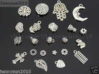 Tibetan Silver Connector Metal Spacer Charm Beads Jewelry Design Findings Crafts