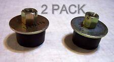 "(2) 1-1/8"" Rubber Expansion Plug/Rubber  Freeze Plug Exhaust Pressure Test Plug"