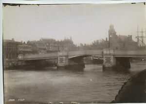 Great Yarmouth – Town Hall Bridge Crown & Anchor Hotel 1891 Photo By Frith