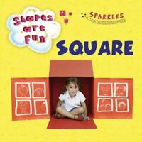 Square (Shapes are Fun), Sophie Schrey/Bryony Jones, Very Good, Board book