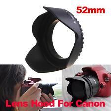 52mm Flower Petal Camera Lens Hood for Nikon D3100 D3000 Canon F/1.8D 18-55mm
