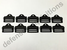 "Set of 10 Military 1"" Tension Lock Adjuster Buckle Ladderlock Sling Attachment"