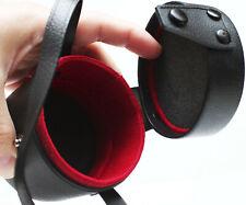 """Vintage Konica 3"""" Hard Lens Case For Prime Wide Angle Mid Range Zoom Lenses"""
