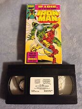 """Iron Man / """"If I Die Let It Be With Honor"""" - VHS Video Tape - Marvel Comic"""