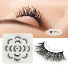 10 Paare 3D falsche Wimpern Wispy Fluffy Natural Long Lashes Handmade