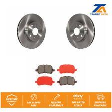 Front Disc Rotors & Semi-Metallic Brake Pads Fit Toyota Corolla Chevrolet Prizm