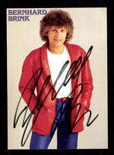Bernhard Brink Autogrammkarte Original Signiert ## BC 95385