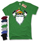 Père Noël Ananas Tee-shirt Motif Père Noel BAIN HAUT Fun Vacances Barbe Barbe