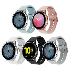 For Samsung Galaxy Watch Active 2 Band Wrist Strap Bracelet Soft Silicone 20mm