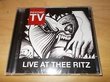Psychic TV - Live At Thee Ritz   2CDs  NEU  (2012)