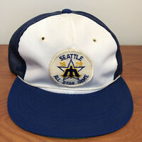 Seattle Mariners Hat Trucker Cap Vintage 70s MLB Baseball All Star Game 1979 USA