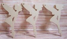 5x MDF Flying Fairy craft Blank /Shape 150mm