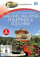 DVD BR Fernweh Thailand, Malaysia, Philippinen und Südchina  5DVDs