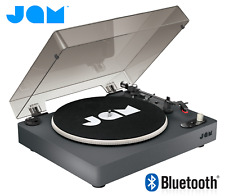 Jam Spun Out Bluetooth Vinyl LP Record Player Turntable 3 Speed Portable Black