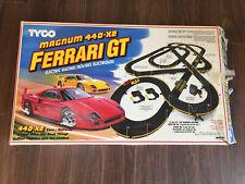 Tyco Magnum 440 X2 Ferrari GT Track Set *SOME MISSING PARTS*