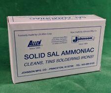 1/2 lb. Sal Ammoniac Block for Tinning Soldering Iron Tips