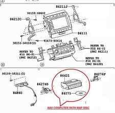 TOYOTA LAND CRUISER SAT NAV ECU GPS NAVIGATION DVD COMPUTER MODULE  86421-60040