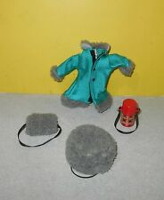 """Madeline 8"""" Doll EDEN Ice Skating Play Adventure Clothes Set w/ Thermos"""