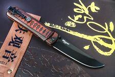 Russian Folding/EDC KNIFE KIZLYAR SUPREME Whisper D2 Black Red Handle Hunting t