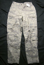 New Air Force Military Gray Green Digital Camouflage Pants Womens 16R Button Fly