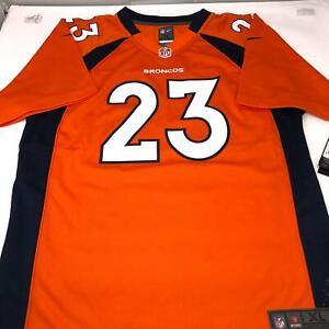 Nike Denver Broncos Willis McGahee #23 Orange Jersey Youth 18/20 X-Large